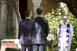 Wedding Sorrento Cloister San Francesco