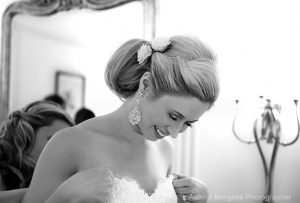 wedding Sorrento bride getting ready