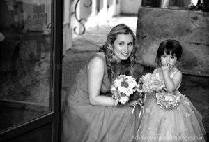 Flower girl wedding Sorrento