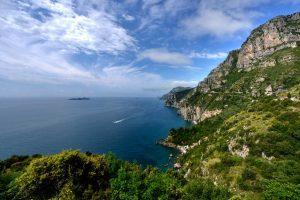 Landscape view near Positano