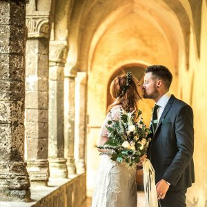Wedding Photographer San Francesco cloister Sorrento